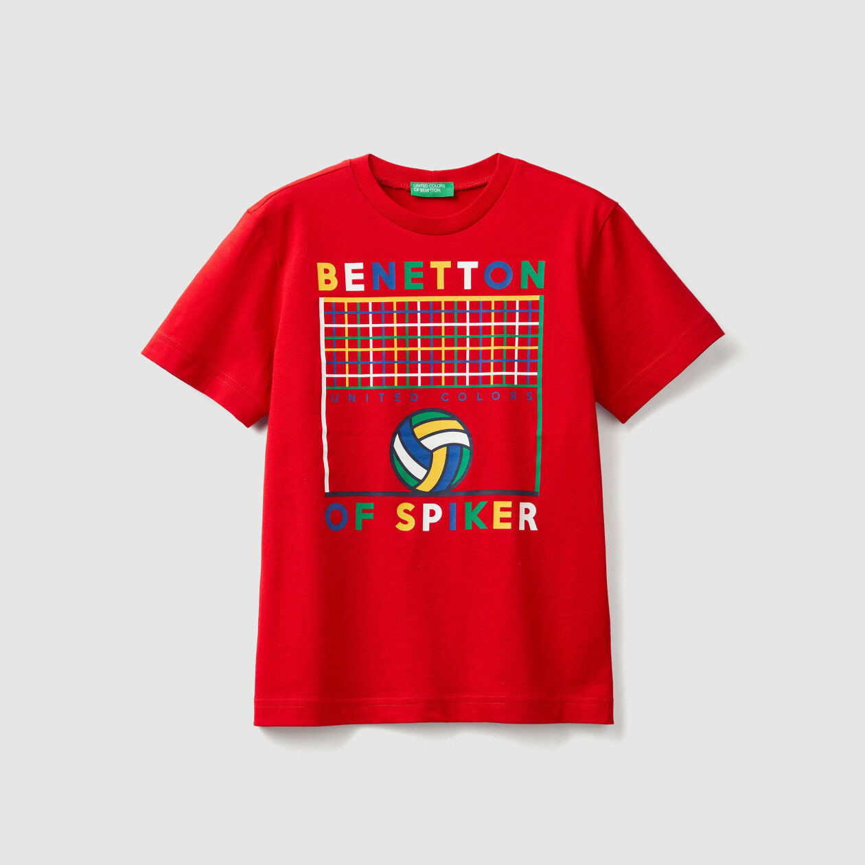 T-shirt with sporty print