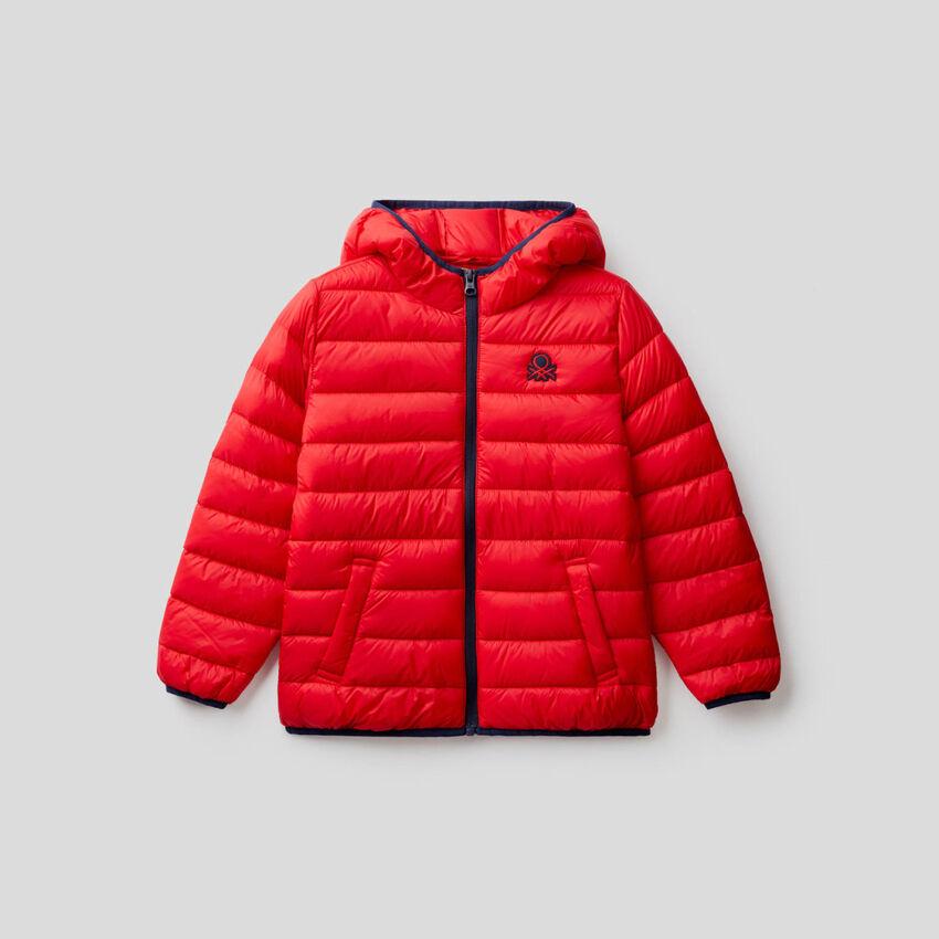 Padded jacket with hood