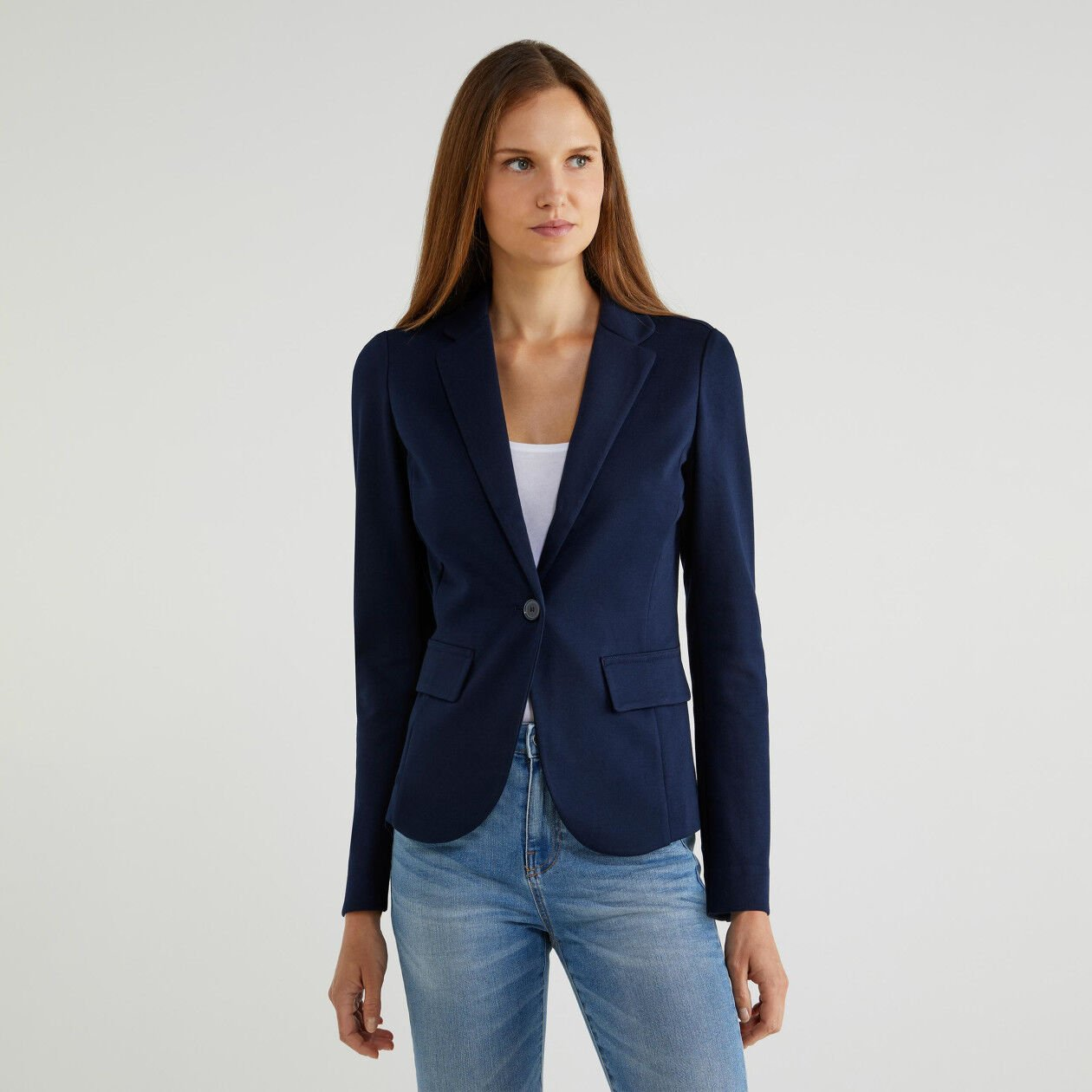 Unlined blazer