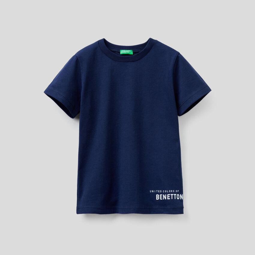 Basic t-shirt in organic cotton.