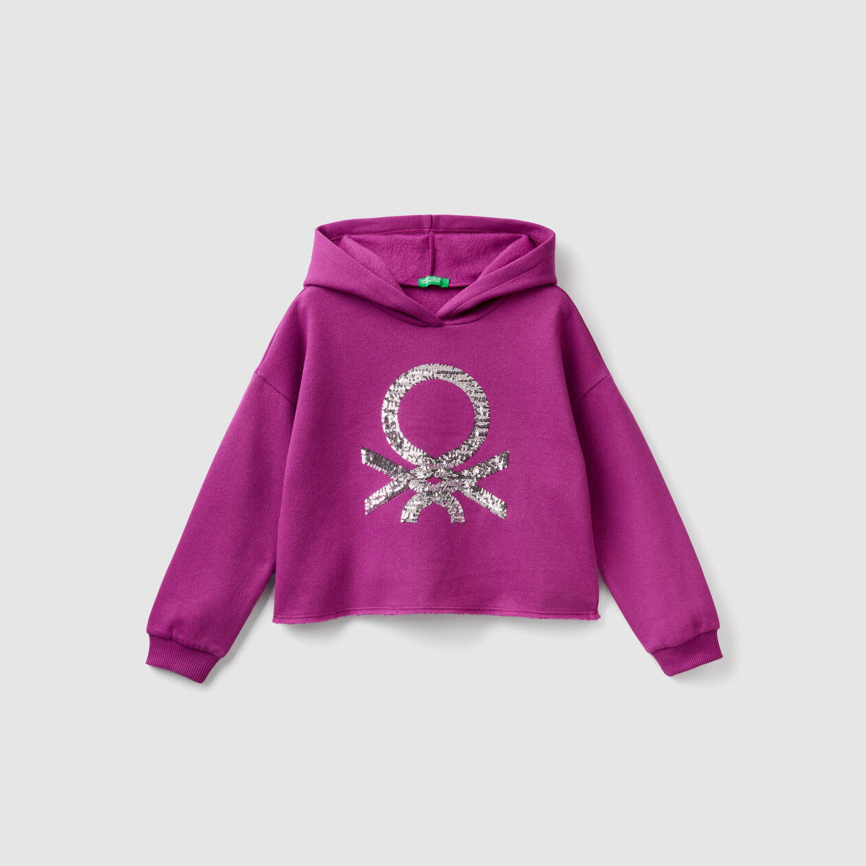 Hoodie with sequins
