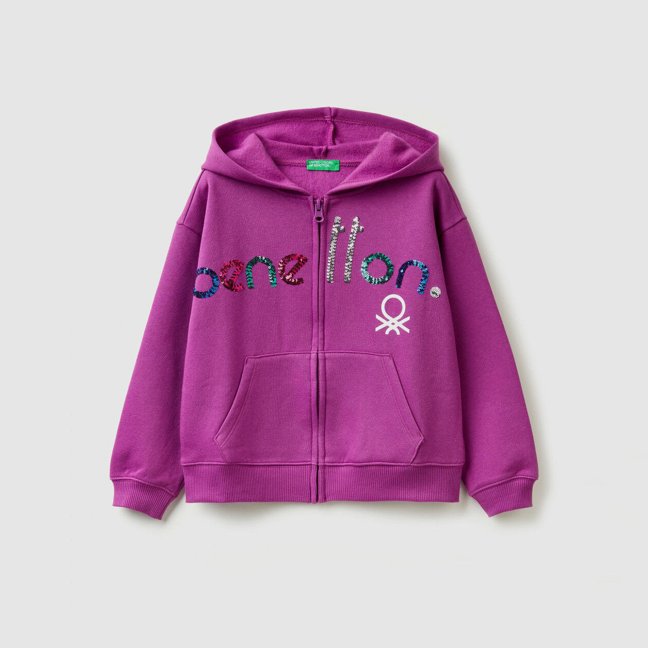 Hoodie with logo