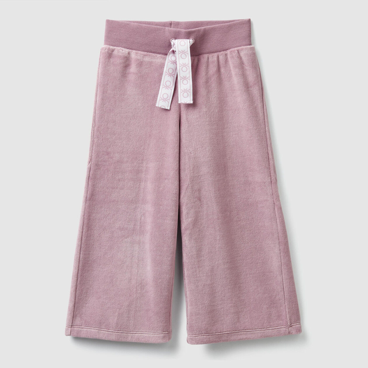 3/4 trousers in chenille