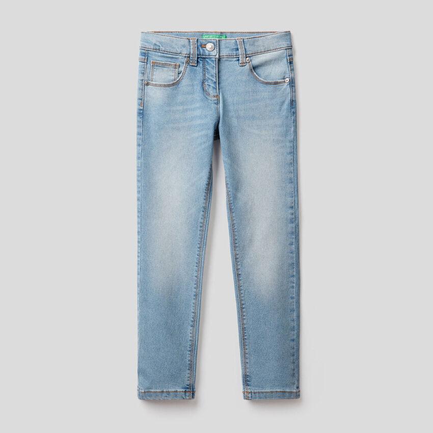 Five-pocket slim fit jeans