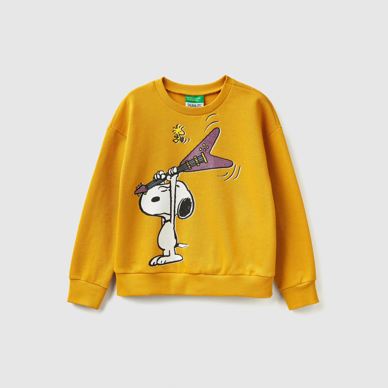 "Sweatshirt with ""Snoopy"" print"
