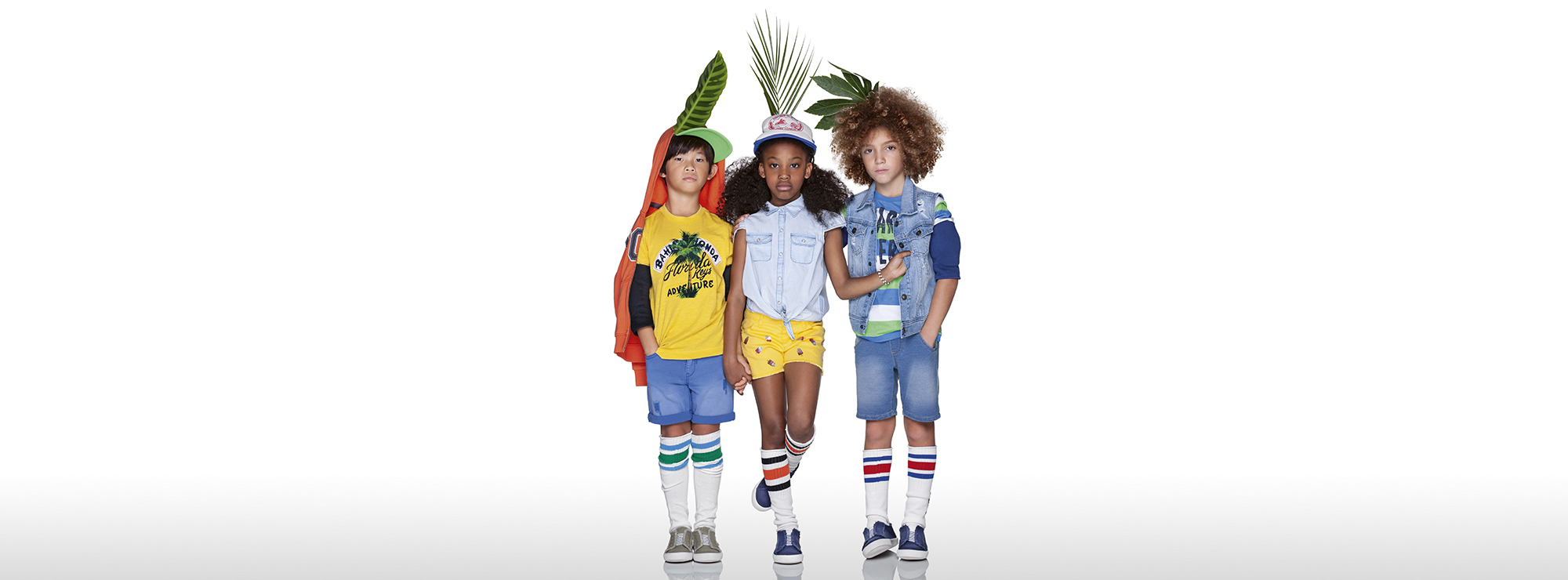 Boy's T-Shirts and Sweatshirts Benetton